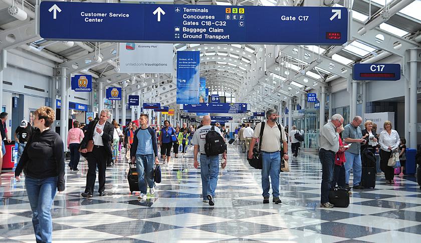 Noticias de aeropuertos. Terminal de Aeropuerto Internacional Chicago O´Hare
