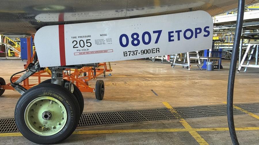 Noticias de aviones. Noticias de aviación. ETOPS en un Boeing 737