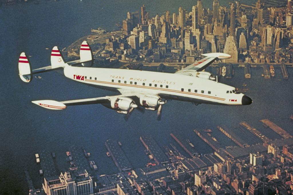 Noticias de aviones. Noticias de aviación. Lockheed Constellation de la TWA