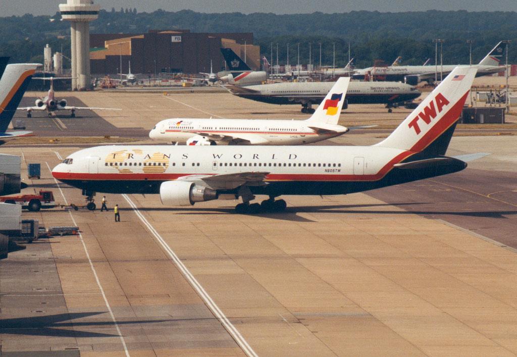 Noticias de aviones. Noticias de aviación. Boeing 767-200 de TWA