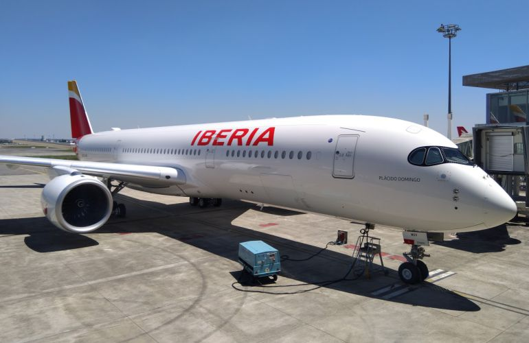 Noticias de aviones. Noticias de aviación. Airbus A350 de Iberia