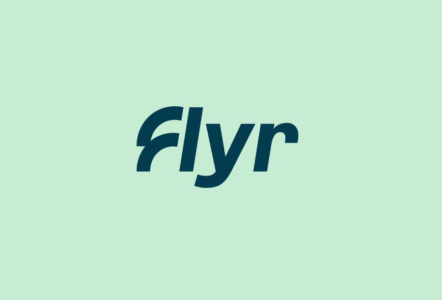 Noticias de compañías aéreas. Noticias de aerolíneas. Logo de Flyr.