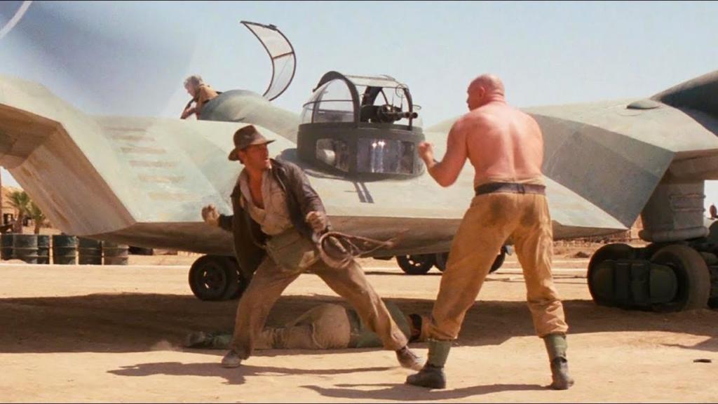 Noticias de aviones. Noticias de aviación. Modelo ficticio de avión en Indiana Jones