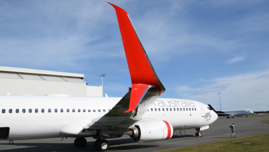 Noticias de aviación. Noticias de avionse. Winglets en un Boeing 737