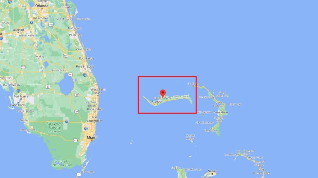Noticias de aviones. Noticias de aviación. Isla de Grand Bahama