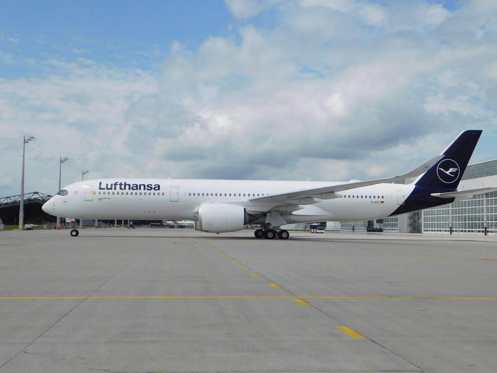 Noticias de aerolíneas. Noticias de aviación. Airbus A350-900 de Lufthansa