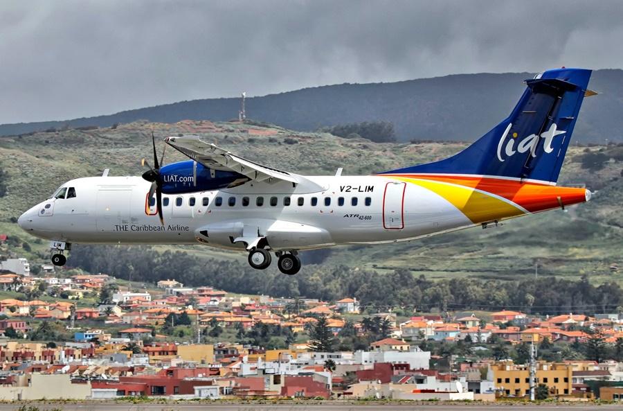 Noticias de aerolíneas. Noticias de compañías aéreas. ATR 42/72 de LIAT