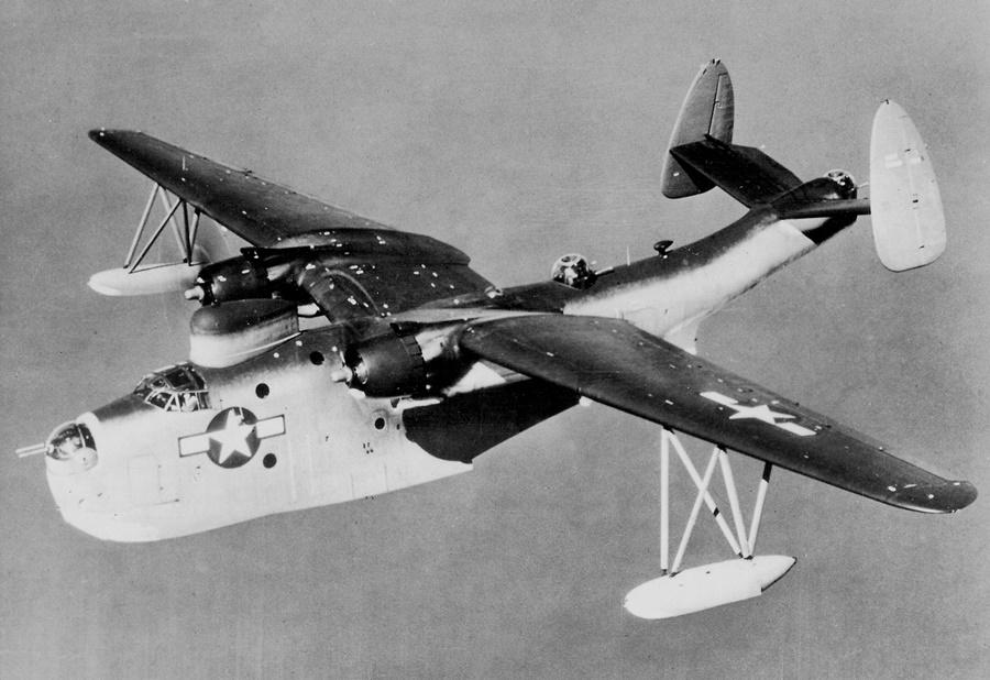Noticias de aviones. Noticias de aviación. Avión Martin PBM Mariner