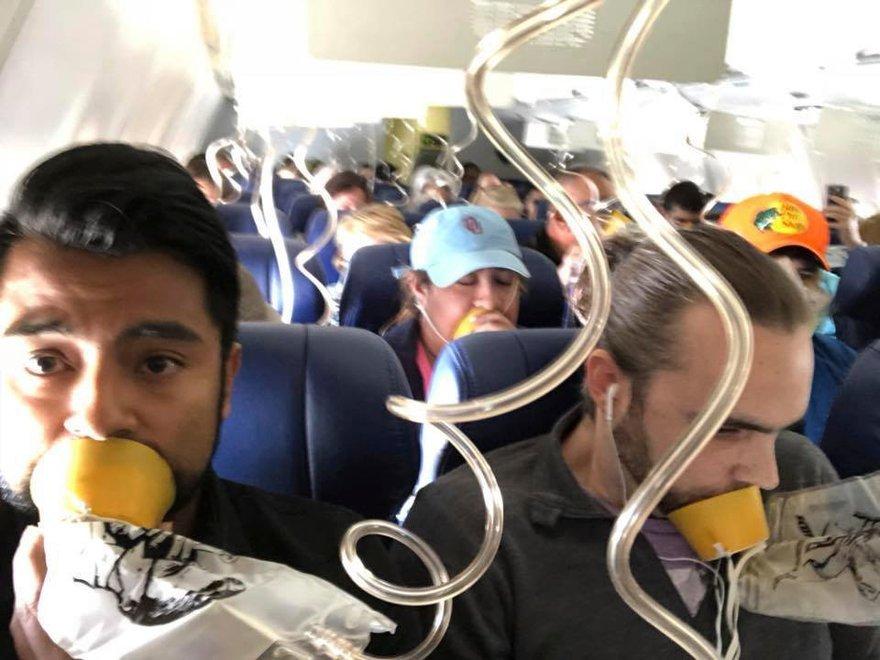 Noticias de aviación. Noticias de aviones. Descompresión en la cabina de un avión.