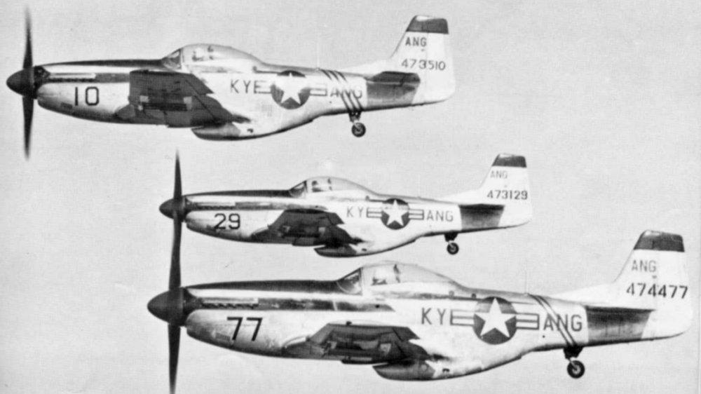 Noticias de aviones. Noticias de aviación. Aviones Mustang F-51D