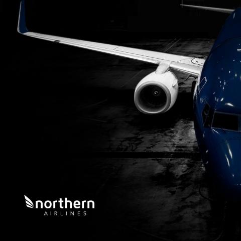 Noticias de aerolíneas. Noticias de compañías aéreas. Logo de la nueva aerolínea Northern Airlines