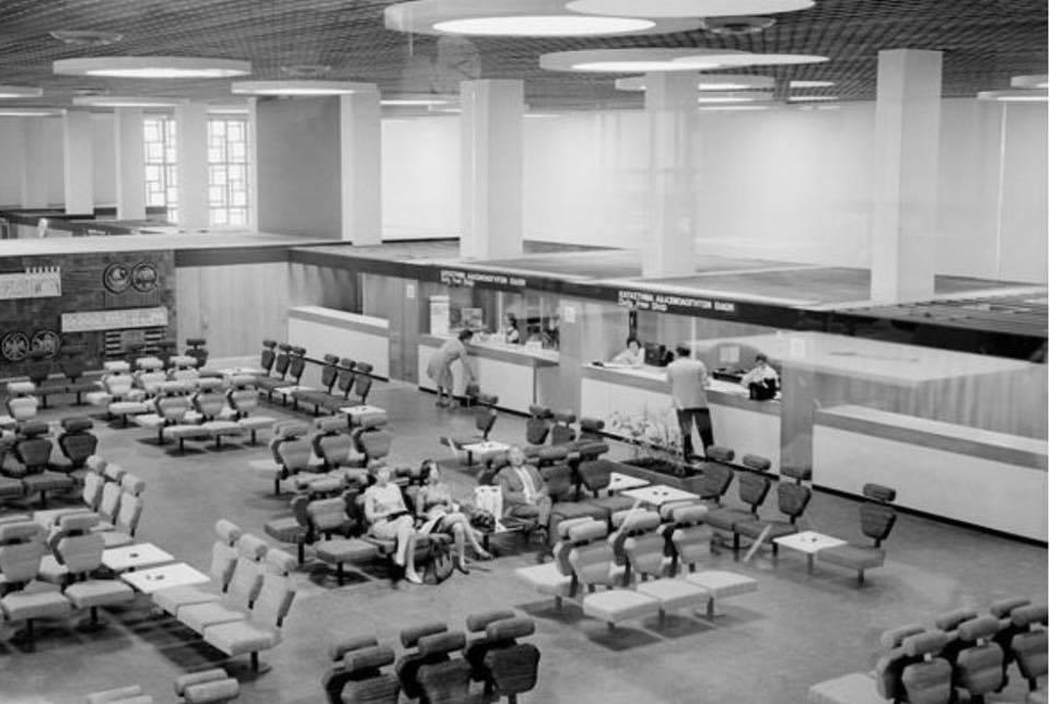 Noticias de aeropuertos. Noticias de aviones. Aeropuerto Internacional de Nicosia en los años 60
