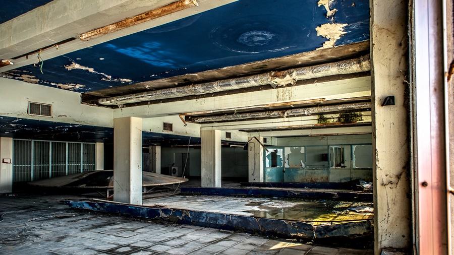 Aeropuerto Internacional de Nicosia abandonado