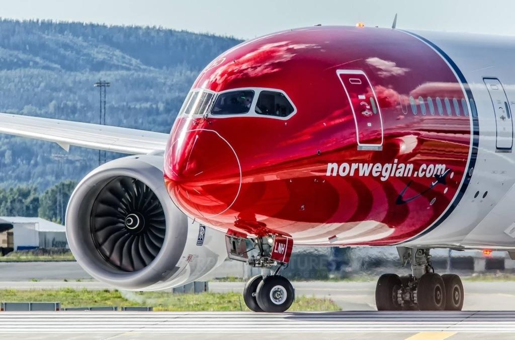 Noticias de aerolíneas. Noticias de compañías aéreas. Boeing 787 Dreamliner de Norwegian
