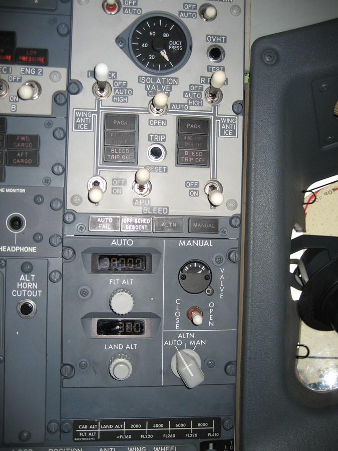 Noticias de aviación. Noticias de aviones. Sistema de presurización de un avión.