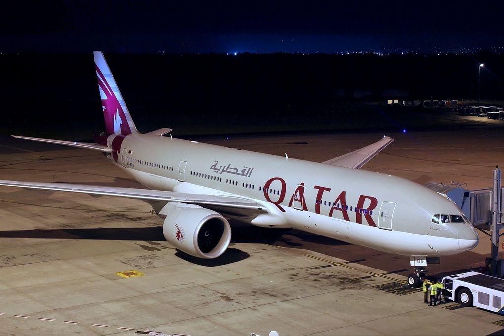 Noticias de aviones. Noticias de aerolíneas. Boeing 777-200LR de Qatar Airways