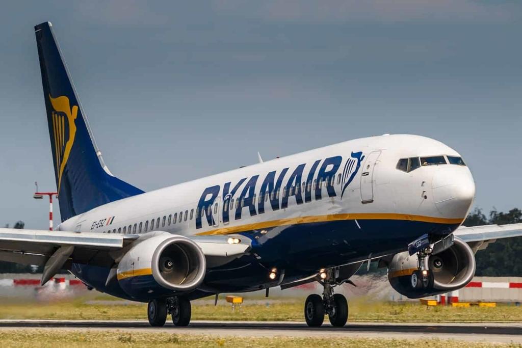 Noticias de aerolíneas. Noticias de compañías aéreas. Boeing 737 de Ryanair