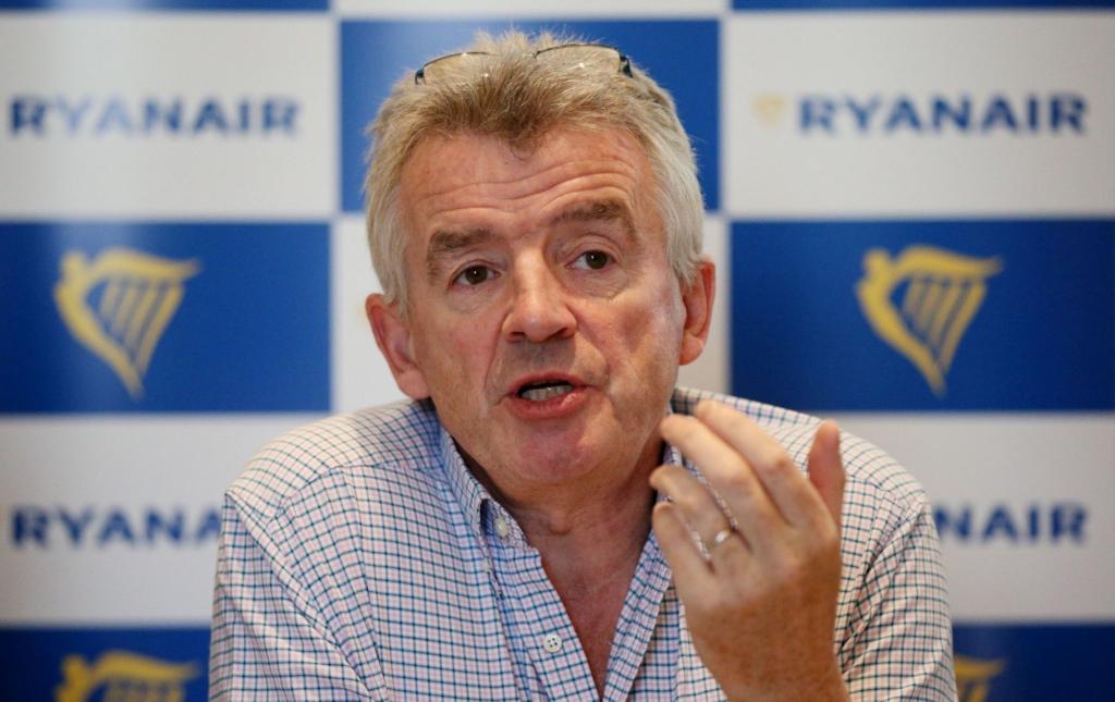 Noticias de aerolíneas. Noticias de compañías aéreas. Michael O´Leary, CEO de Ryanair