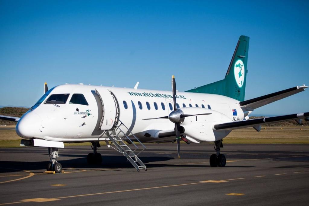 Noticias de aerolíneas. Noticias de aviones. SAAB 340 de Air Chathams