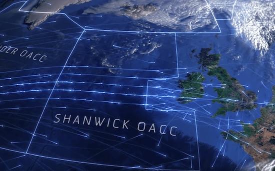 Noticias de aviones. Noticias de aviación. Centro de Control Oceánido de Shanwick