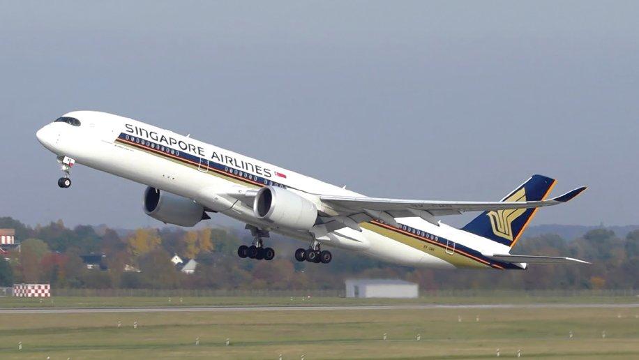 Noticias de aerolíneas. Noticias de aviones. Airbus A350-900 de Singapore Airlines.