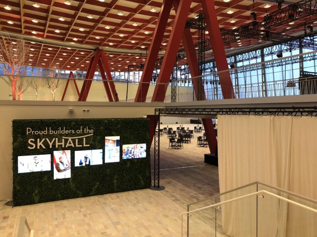 Noticias de aeropuertos. Skyhall en el aeropuerto de Bruselas