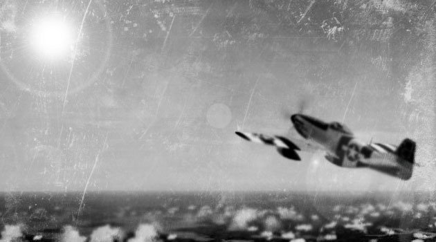 Noticias de aviones. Noticias de aviación. F-51 persiguiendo un objeto brillante
