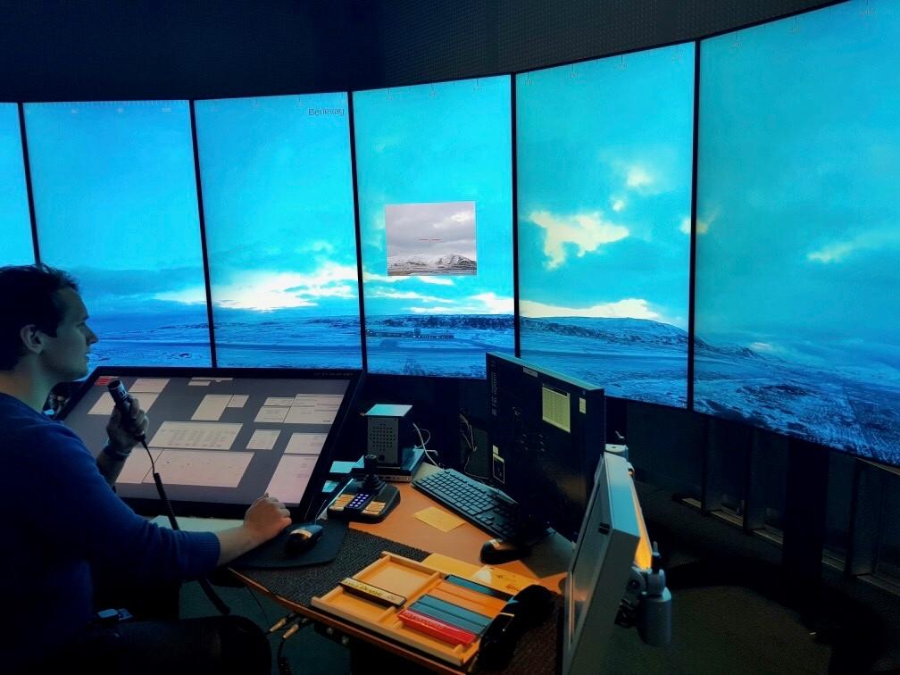 Noticias de aeropuertos. Noticias de control aéreo. Torre de control remota en Noruega