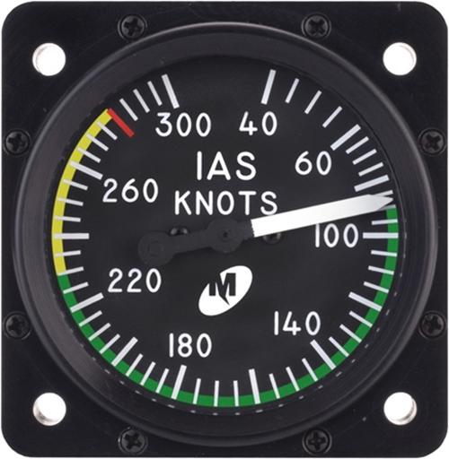 Noticias de aviones. Noticias de aviación. Anemómetro indicando IAS