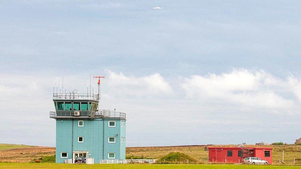Noticias de aeropuertos. Noticias de aviación. Noticias de aerolíneas. Aeropuerto de Kirkwall