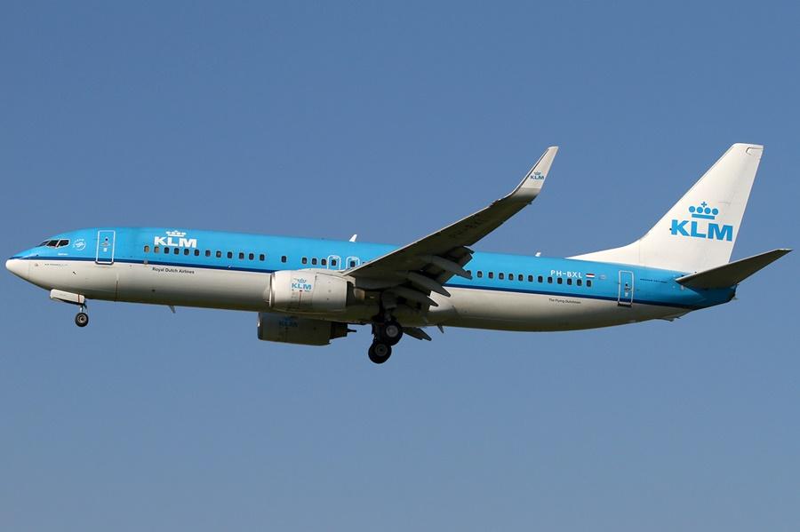 Noticias de aeropuertos. Noticias de aviación. Noticias de aerolíneas. Boeing 737-800 de KLM