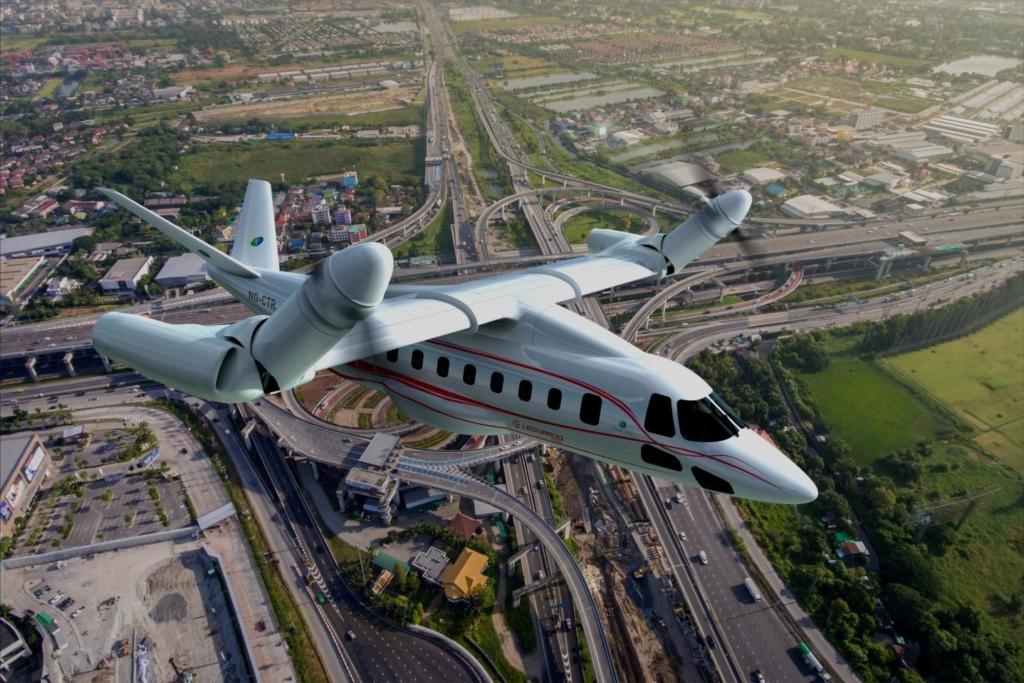 Noticias de aviación. Noticias de aviones. Prototipo de convertiplano de Leonardo.
