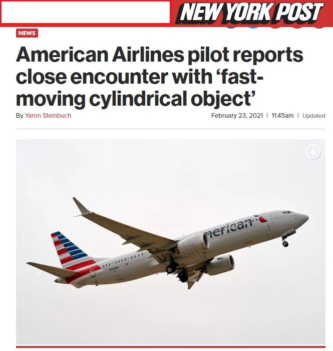 Noticias de aviones. Noticias de aviación. Noticia publicada en el NY Post