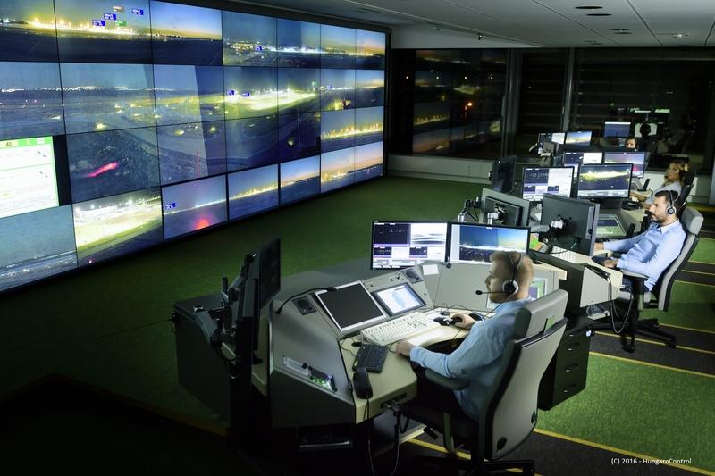 Noticias de aeropuertos. Noticias de control aéreo. Torre de control digital en Hungría