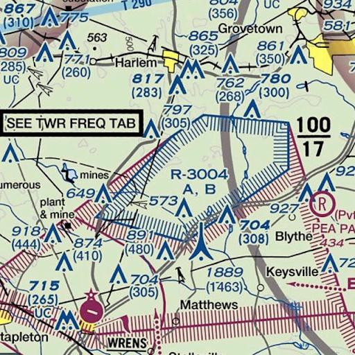 Noticias de aviación. Espacio aéreo restringido