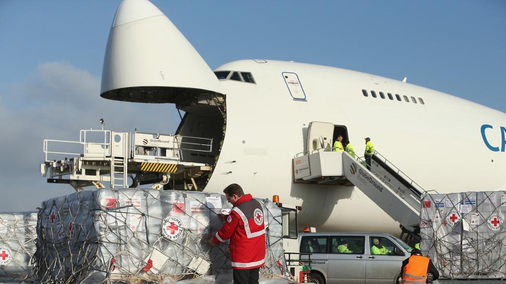 Noticias de aerolíneas. Noticias de compañías aéreas. Transportando vacunas en avión