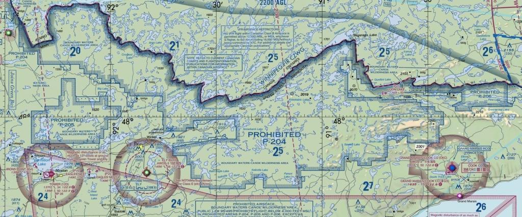 Noticias de aviación. Espacio aéreo en Minnesota