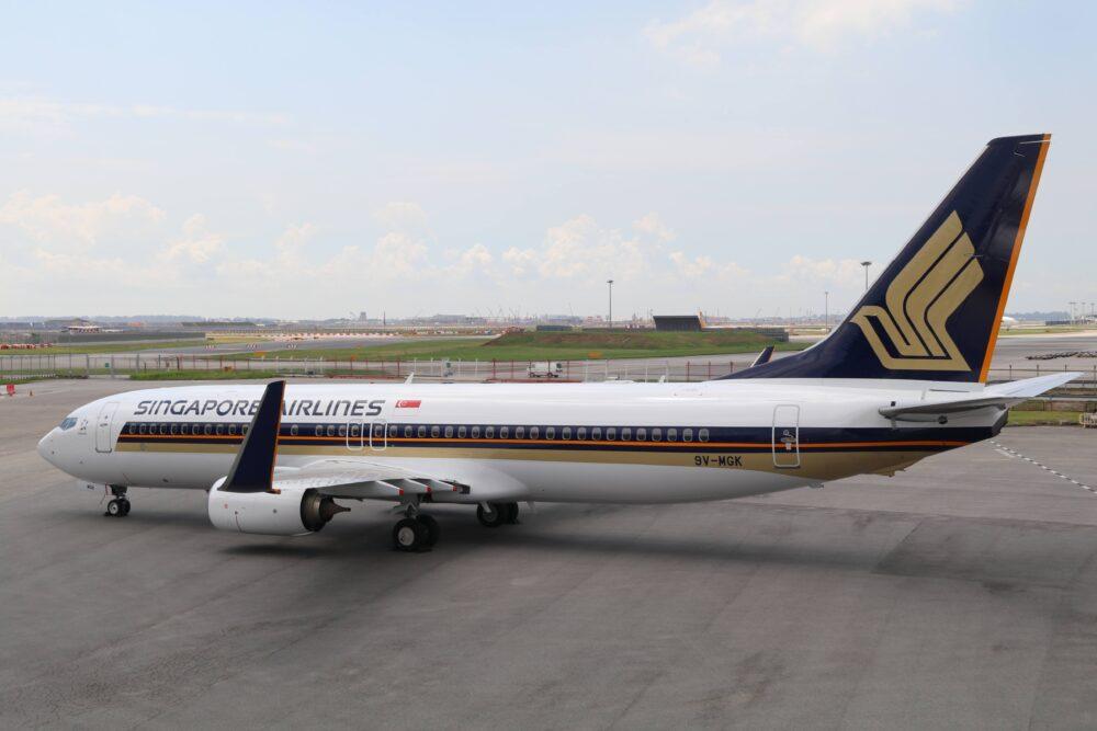 Noticias de aviones. Noticias de aerolíneas. Boeing 737 de Singapore Airlines