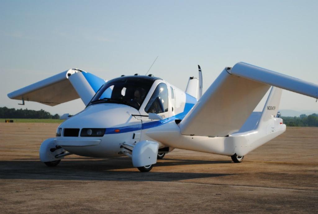 Noticias de aviación. Noticias de aviones. Terrafugia Transition