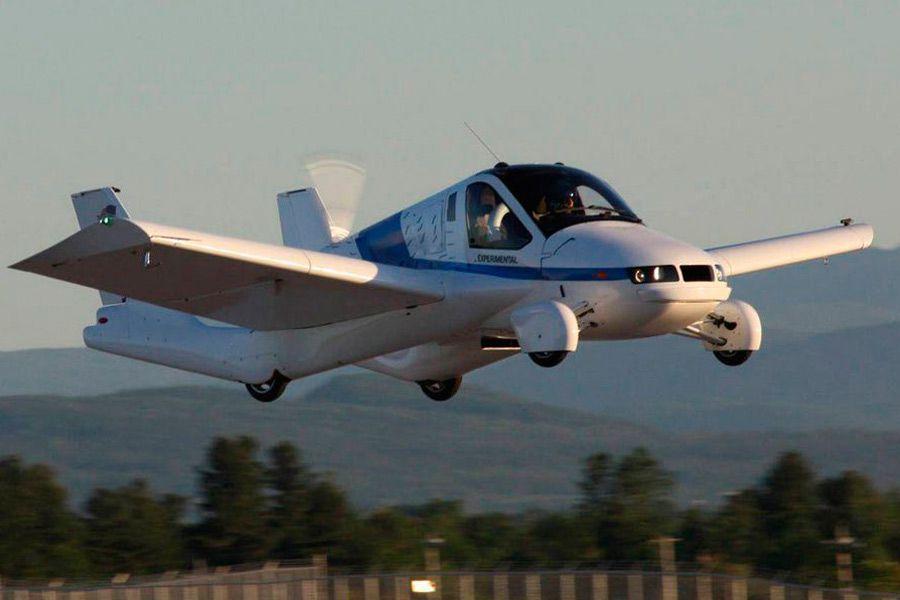 Noticias de aviación. Noticias de aviones. Nuevo modelo de Terrafugia