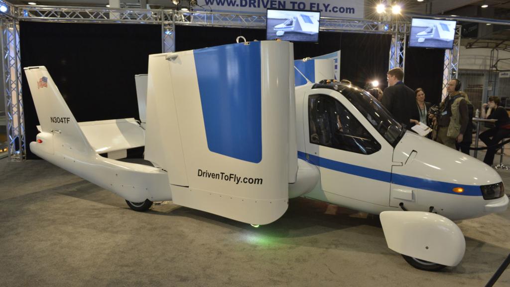 Noticias de aviación. Noticias de aviones. Prototipo Terrafugia Transition