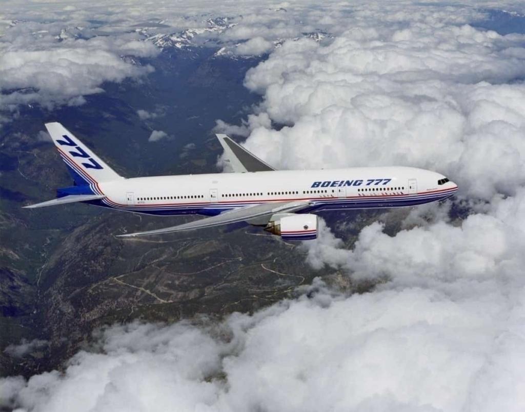 Noticias de aviones. Noticias de aviación. Primer Boeing 777