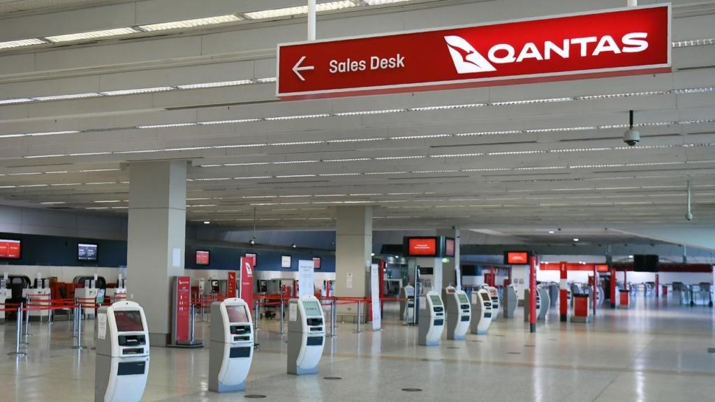 Noticias de aerolineas. Noticias de compañías aéreas. Aeropuerto vacío en Australia.
