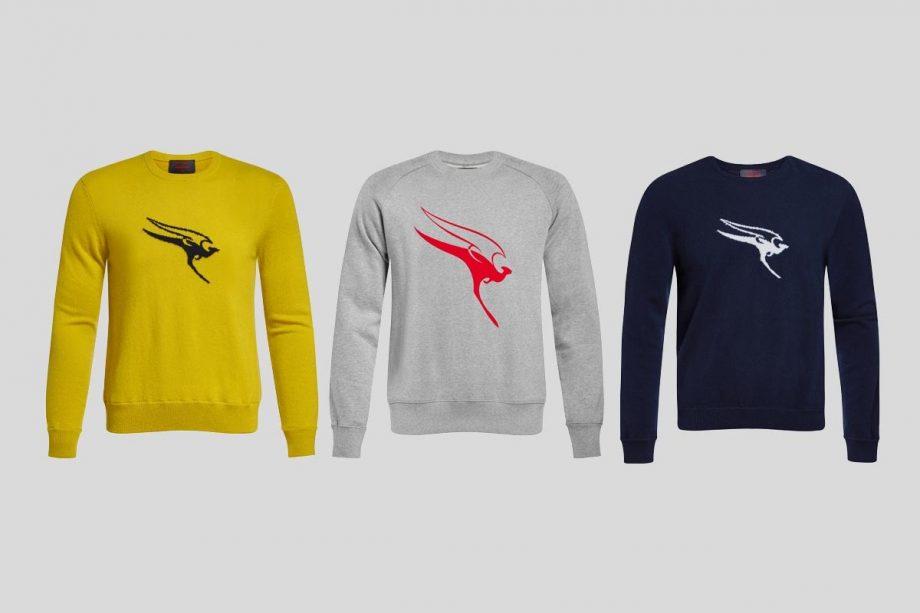 Noticias de aerolineas. Noticias de compañías aéreas. Camisetas con el logo de Qantas