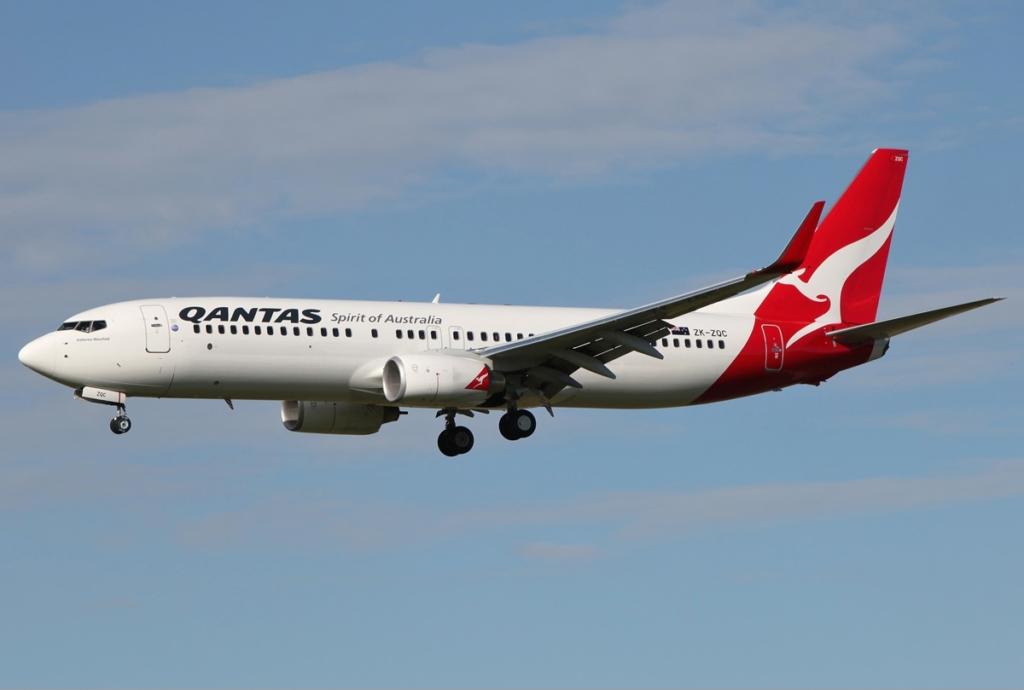 Noticias de aerolineas. Noticias de compañías aéreas. Boeing 737 de Qantas