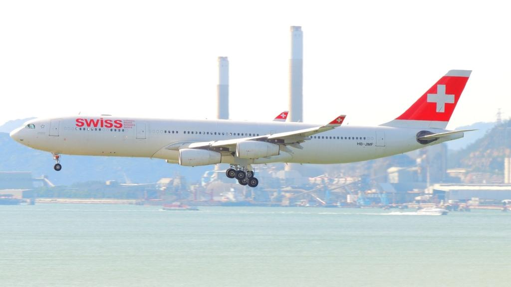 Noticias de compañías aéreas. Noticias de turismo. Airbus A340 de Swiss