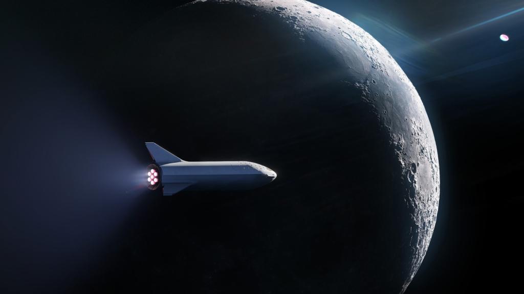 Noticias de turismo. Noticias de aviación. Animación de la misión Dear Moon