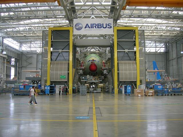 Noticias de aviación. Noticias de aviones. Planta de fabricación de Airbus