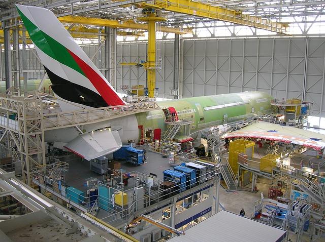 Noticias de aviación. Noticias de aviones. Fabricación del Airbus A380