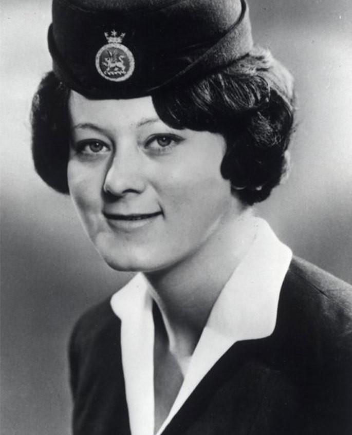 Noticias de aviación. Noticias de aviones. Barbara Jane Harrison, TCP de BOAC en 1968